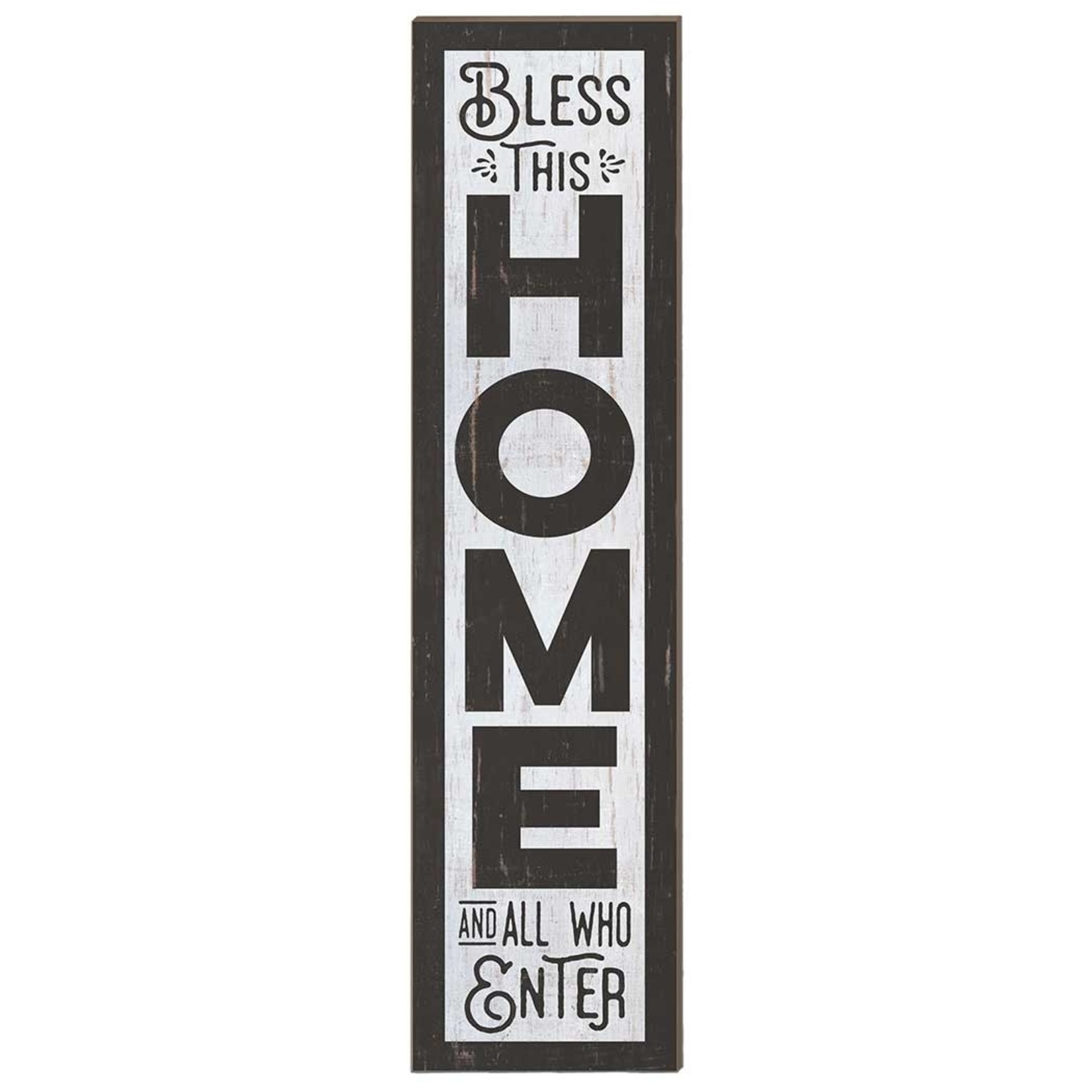 Bless This Home Porch Leaner Sign (12 x 48)
