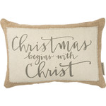 Pillow - Begins With Christ