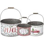 Bucket - Joy Peace (Large Bucket)