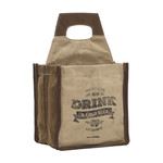 Myra Bags JUST KEEP CALM AND DRINK BEER CADDY