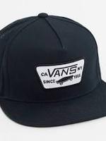 Vans VANS - FULL PATCH SNAPBACK HAT - BLACK
