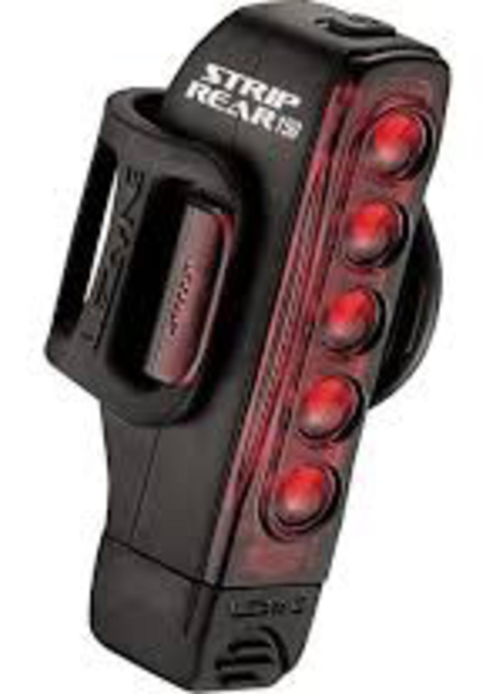 LEZYNE - STRIP DRIVE, LIGHT, REAR 150 lumens
