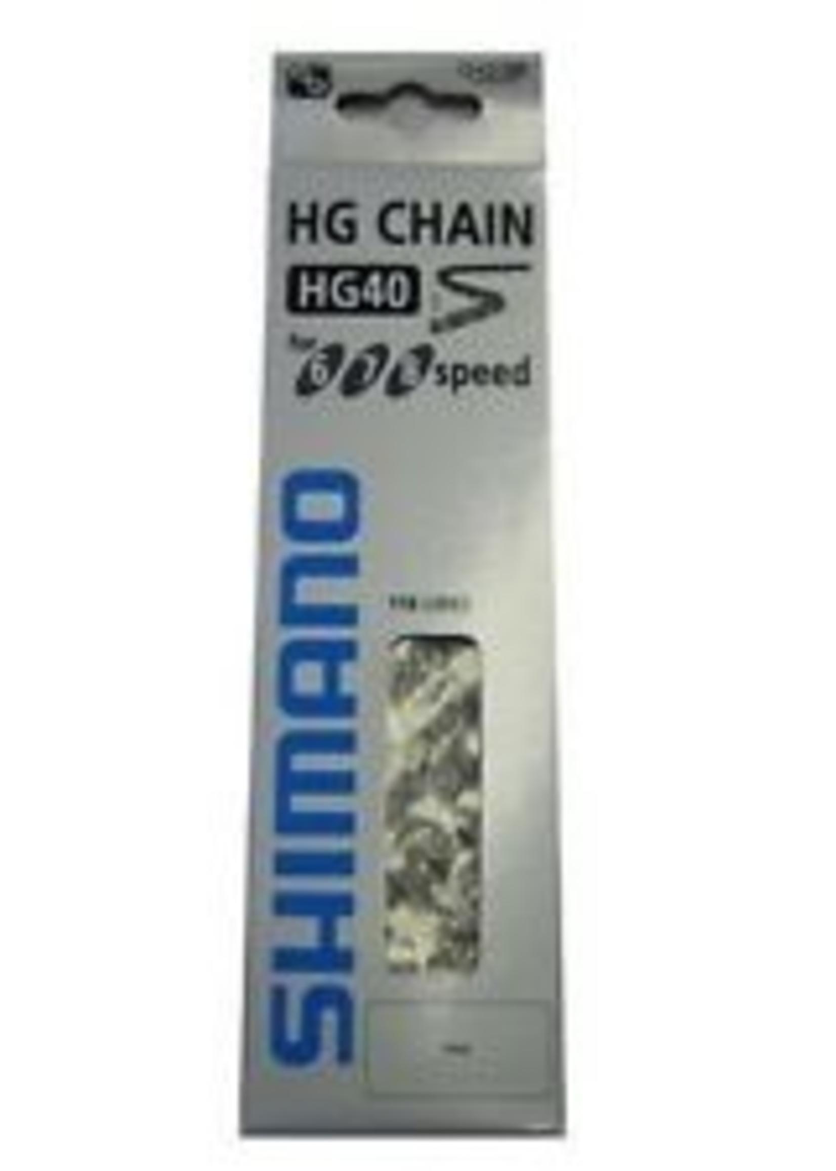 SHIMANO, CN-HG40, 6/7/8SP CHAIN 116 LINKS