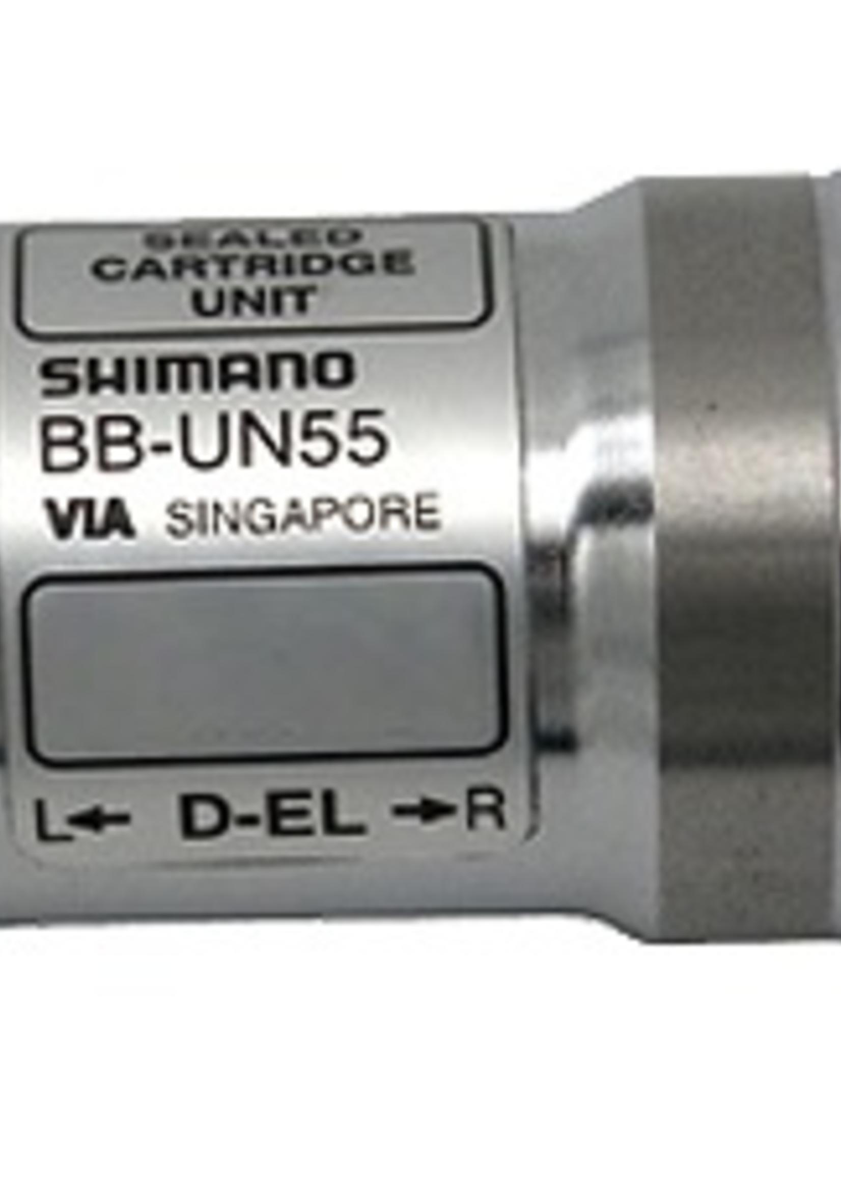 shimano bbun55, square bottom bracket,bsa,68mm, 110mm,steel