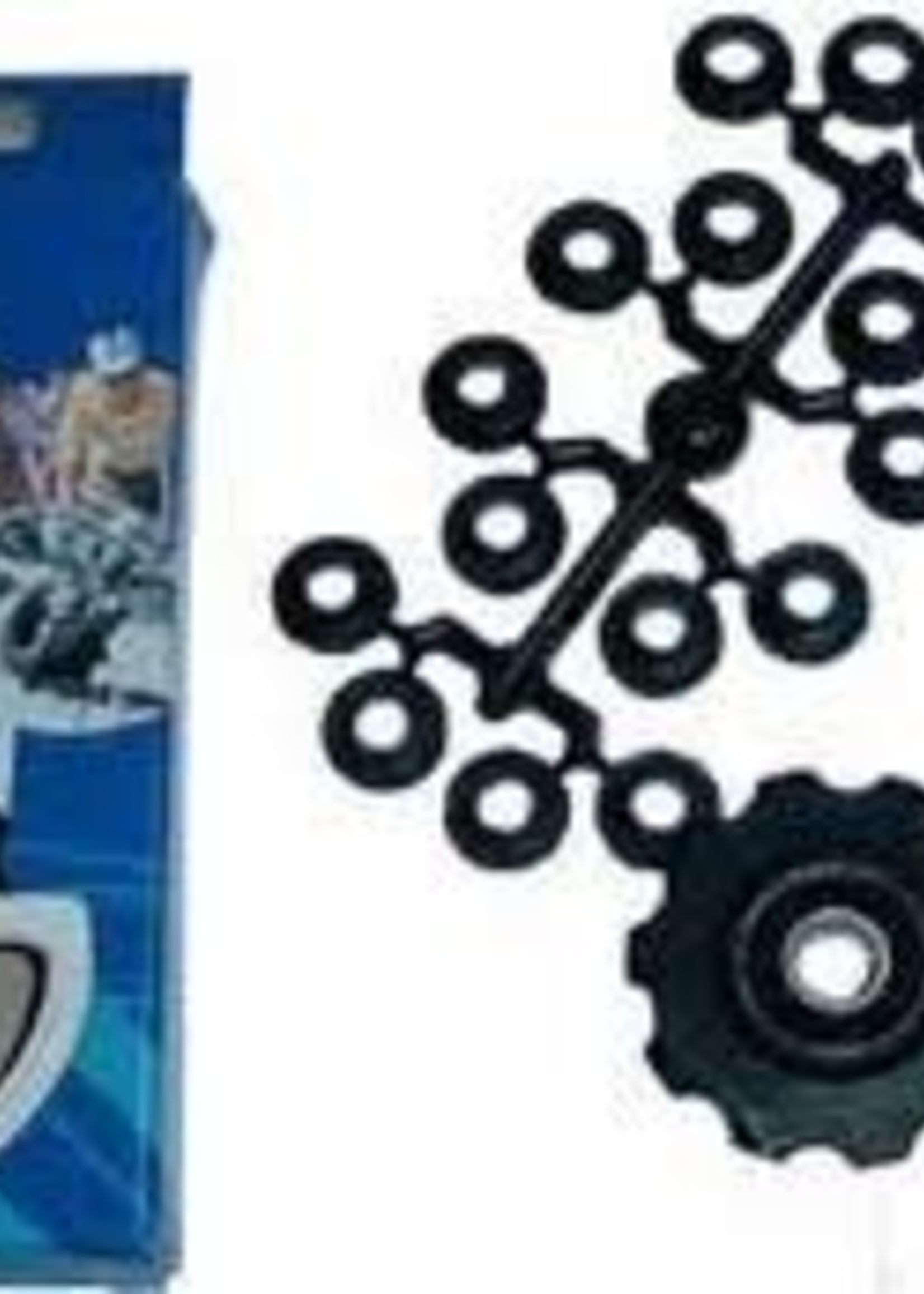 Tacx Tacx Jockey Wheels Shimano 9 & 10 speed stainless bearings t4060