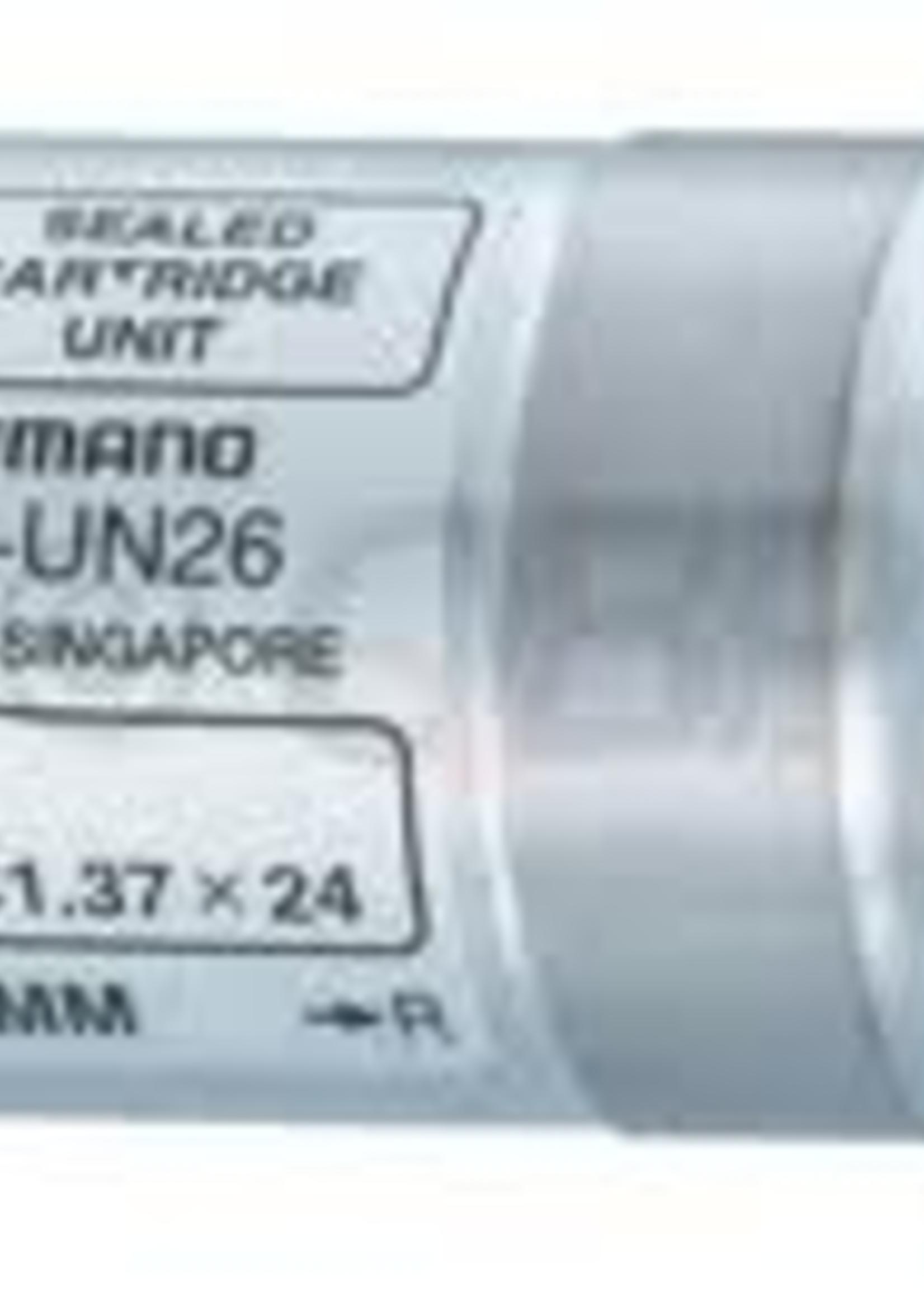 Shimano SHIMANO BBUN300 - Axle 117.5mm - Shell 68mm