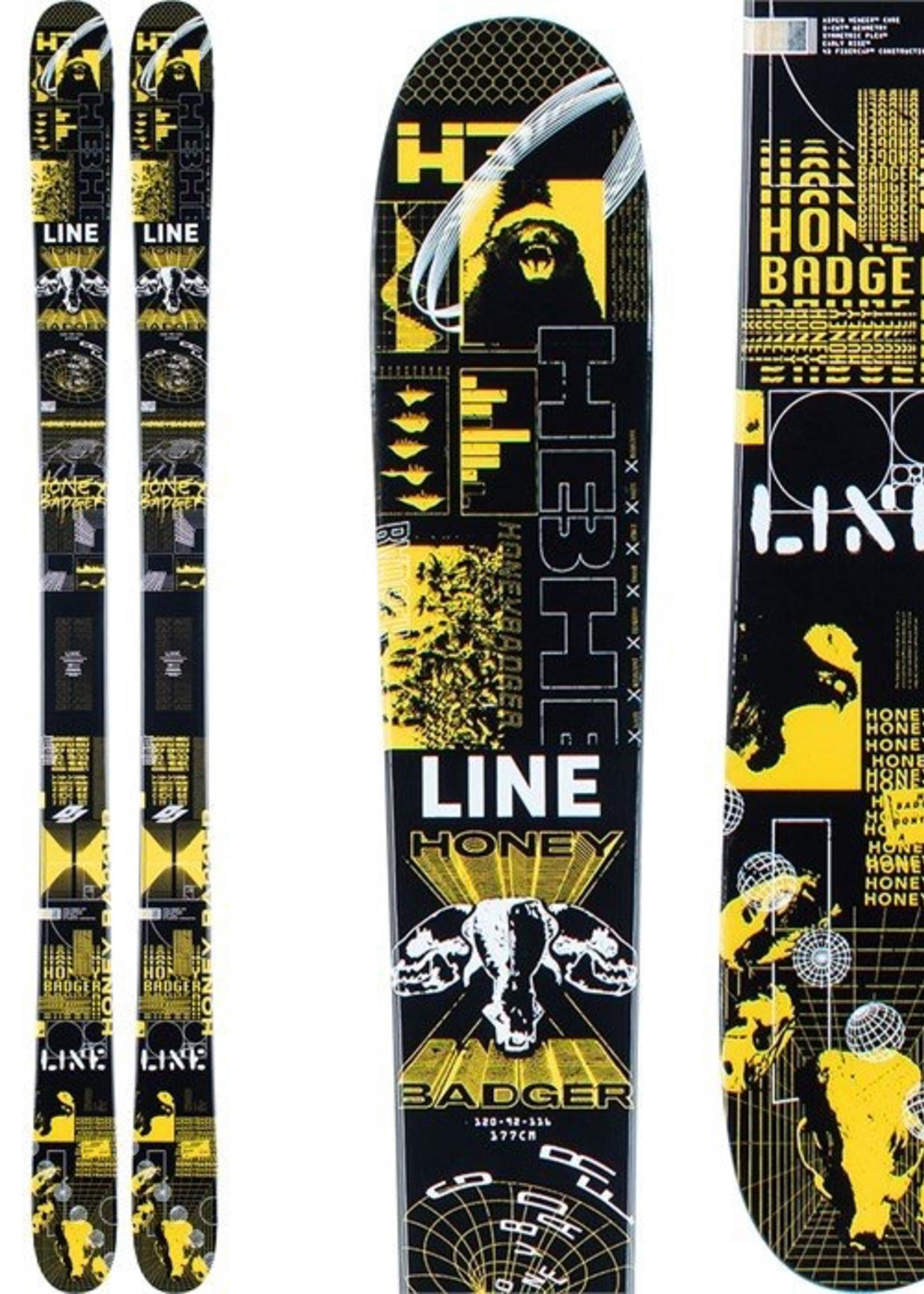 LINE - HONEY BADGER TWIN TIP SKI