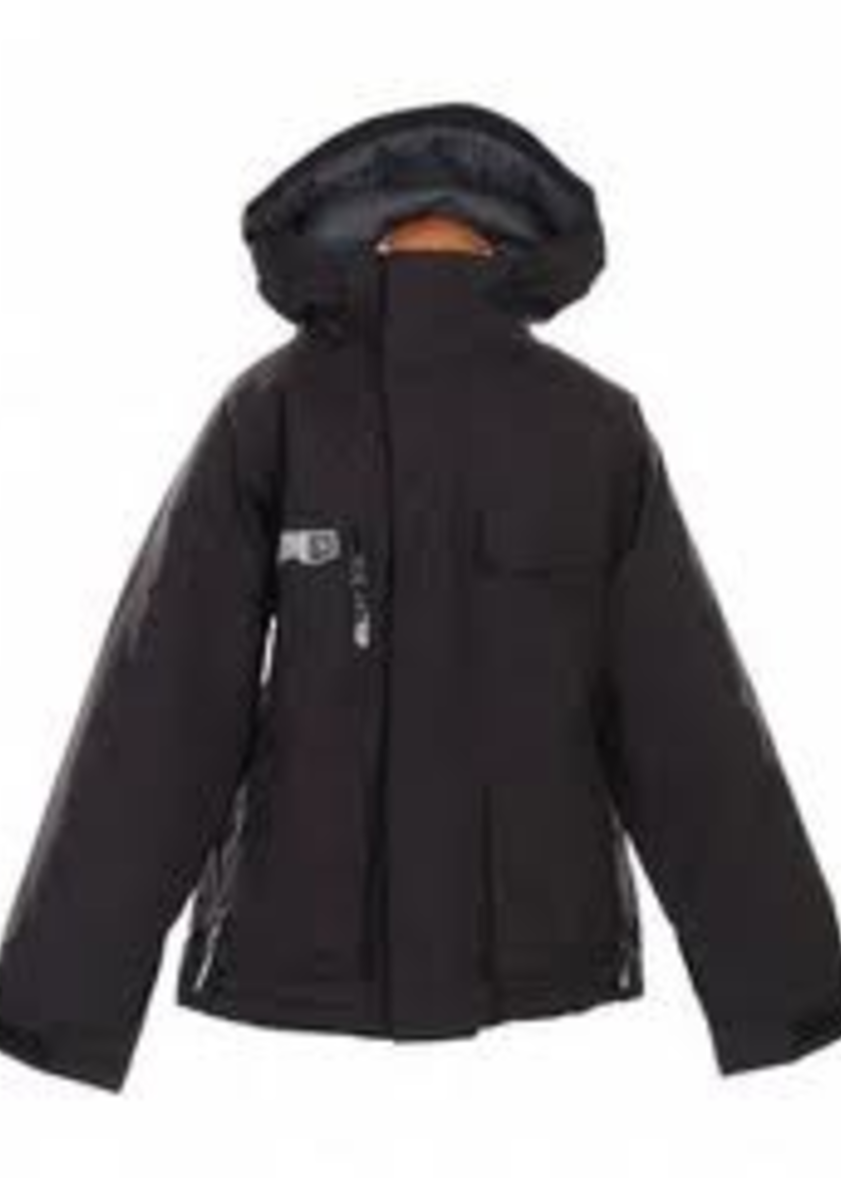 Burton boys modem jacket black large