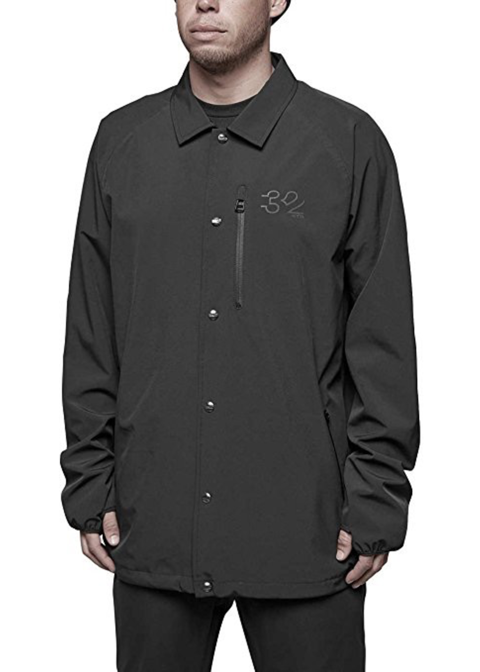 Thirty-two 32 4TS WIRE JACKET BLACK SMALL
