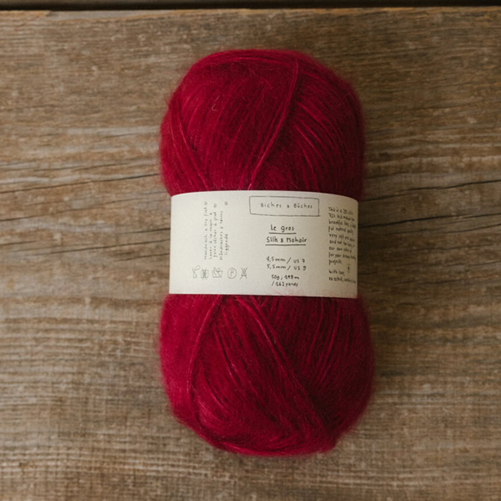 Biches & Bûches Biches and Buches - Le Gros Silk and Mohair