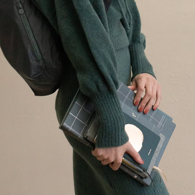Tinne & Mia Tinne and Mia - Linen Notebook A4