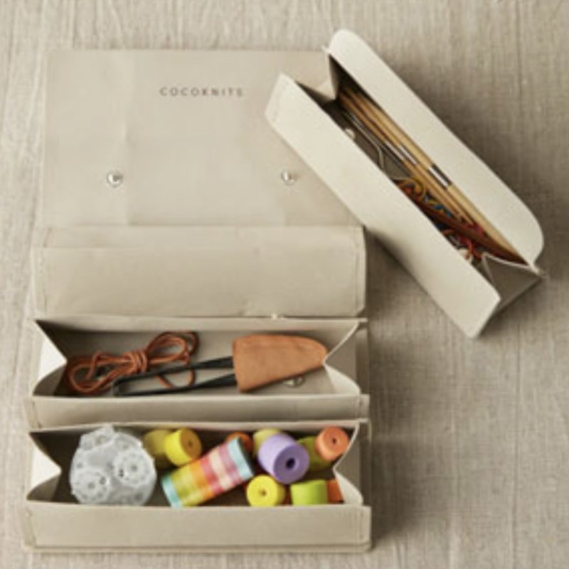 Cocoknits Cocoknits - Accessory Roll, Grey